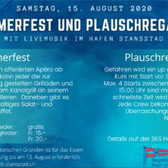 SKS Plauschregatta und Sommerfest 2020